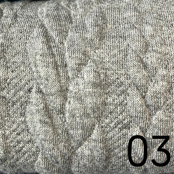 03 – Sweat, geprägt, hellgrau