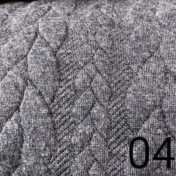04 – Sweat, geprägt, grau