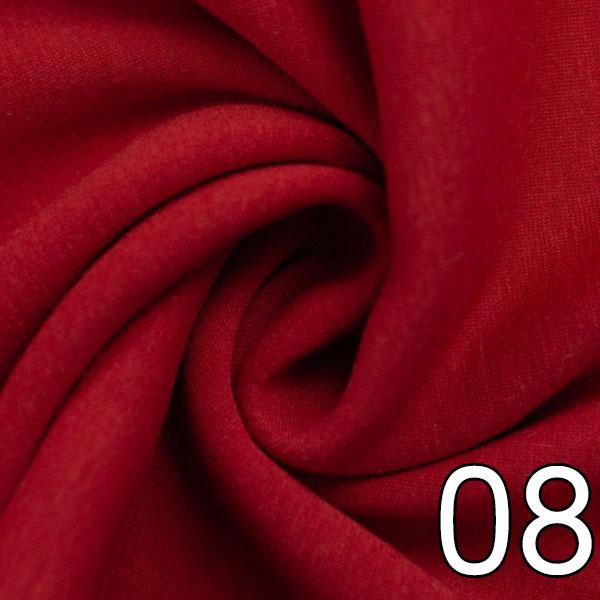 08 - Alpenfleece, uni, rot