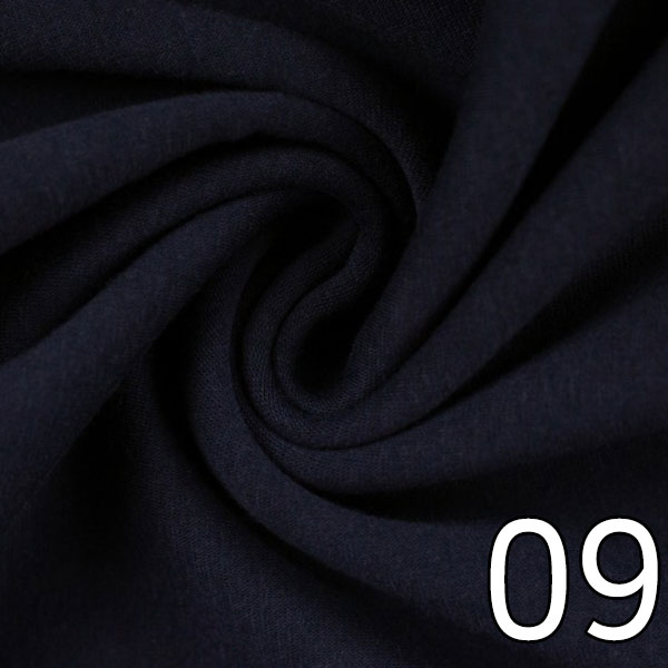 09 - Alpenfleece, uni, dunkelblau