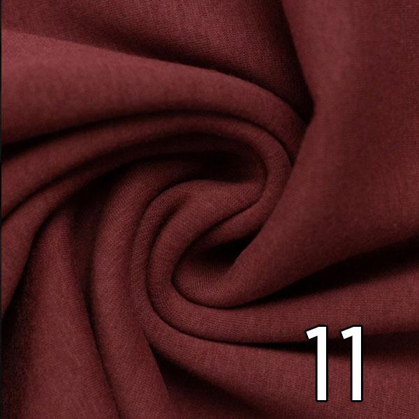 11 - Alpenfleece, meliert, bordeaux