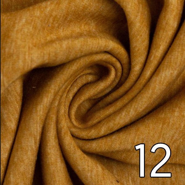 12- Alpenfleece, meliert, ocker