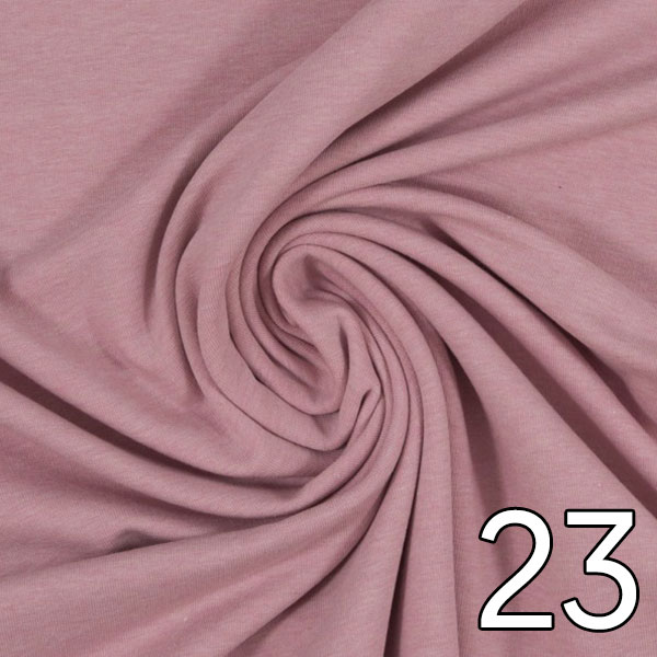 23 - Sweat, meliert, altrosa