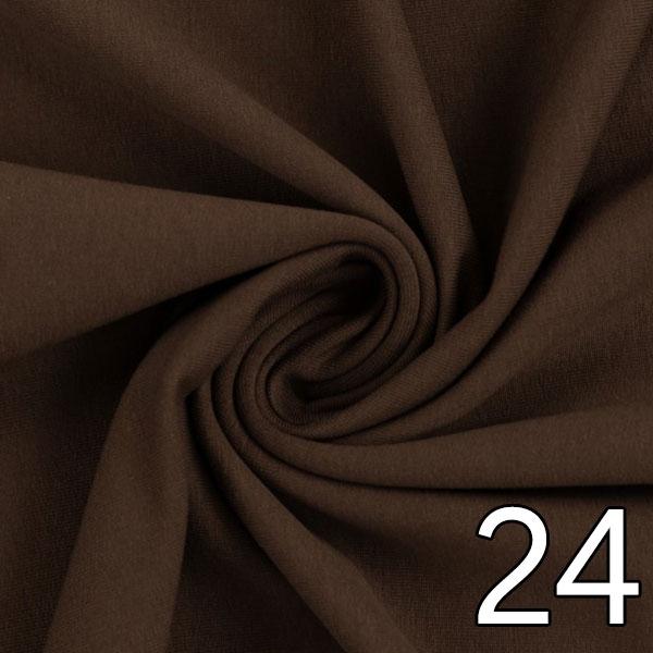 24 - Sweat, uni, braun