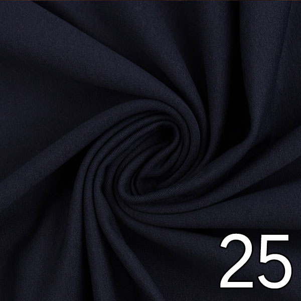 25 - Sweat, uni, dunkelblau