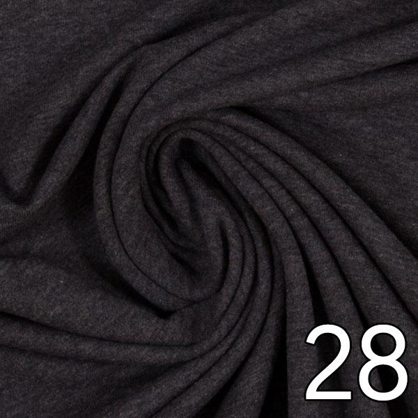 28 - Sweat, meliert, anthrazit