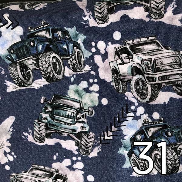 31 - Jersey, Trucks, blau