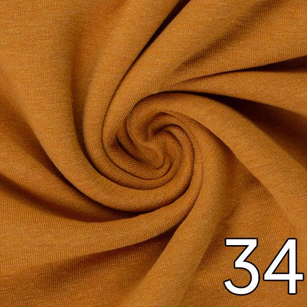 34 - Jersey, meliert, ockerpassend zu 35
