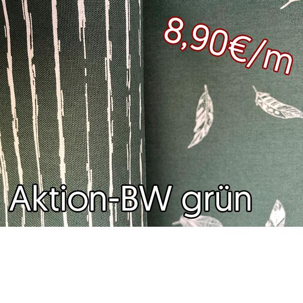 Aktion Baumwolle grün